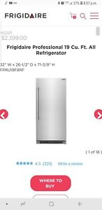 Frigidaire stainless Professional