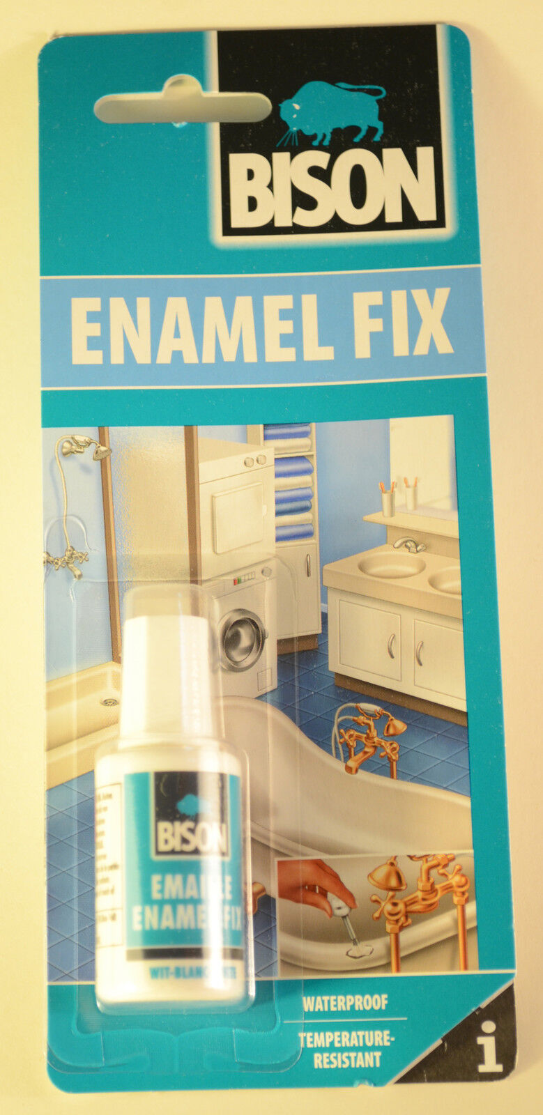 ENAMEL CHIP REPAIR KIT TOUCH UP PAINT FIXCHIPS ON BATH SINK Water ...