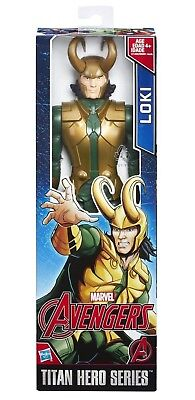 Marvel Avengers Marvel Titan Hero Series  LOKI 12-inch Action Figure NEW!