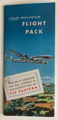 Eastern Airlines Welcome Aboard Kit Packet  - 1950