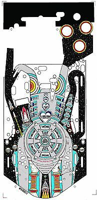 Williams BRIDE OF PINBOT Pinball Machine Playfield Overlay