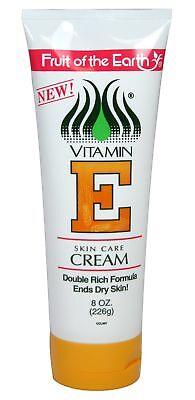 Fruit of the Earth Vitamin E Cream - 8 oz Tube (226