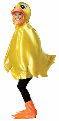 Duck Halloween Costume For Women (Yellow Ducky Adult Costume Unisex Mens Womens Animal Duck Duckling)
