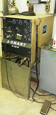 Hobart Tr-250-hf Arc Stick Tig Welder System Acdc Wvs