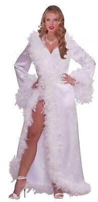 Forum Novelties Vintage Hollywood Marabou Satin Robe Halloween Costume 67967](Marabou Robe)