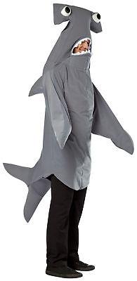 Hammerhead Shark Adult Costume Fish Animal Funny Comical Mascot Halloween