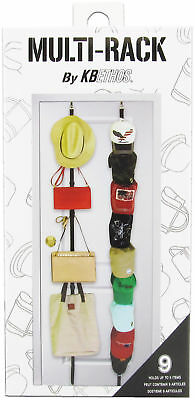Baseball Cap Rack Storage Closet Organizer Hanger Over Door Hat Holder 9 Caps - Overdoor Cap Organizer
