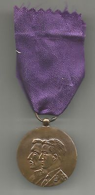 BELGIUM MEDAL FOR 50TH ANNIV. OF END OF WWI 1918-1968  - (BE-314)
