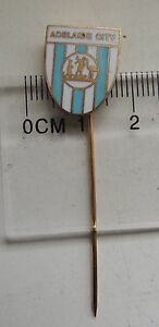 Adelaide City Football Club Australia old badge pin anstecknadel rare ! - Solec Kujawski, Polska - Adelaide City Football Club Australia old badge pin anstecknadel rare ! - Solec Kujawski, Polska