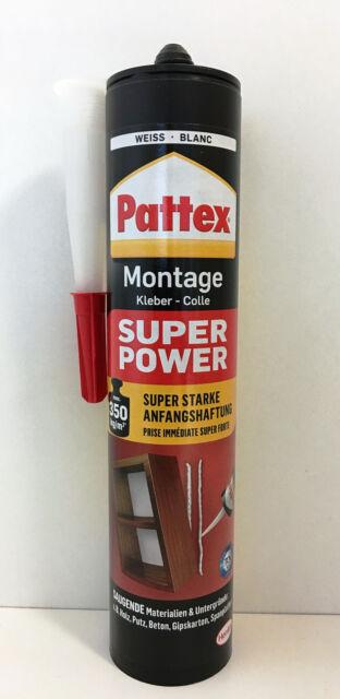 Pattex Montage Kleber Kartusche 370g Super Power Montagekraftkleber