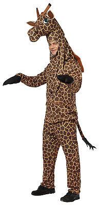 Giraffe Tier Erwachsene Komisch Kostüm Braun Gepunktet Hemd Halloween