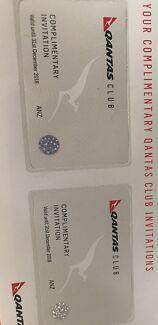 Qantas Club Cards