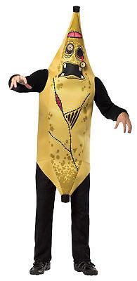 Zombie Moldy Old Banana Adult Costume Tunic Halloween Dress Up Rasta Imposta