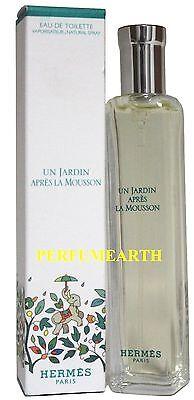 Un Jardin Apres La Mousson By Hermes 15ml Edt Mini Spray For Women New And Unbox ()