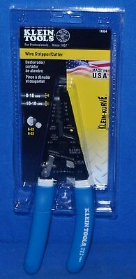 Klein Tools Wire Stripper Cutter For 8-16 Awg Solid Wire 10-18 Awg