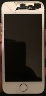 APPLE IPHONE 5S 16GB SILVER UNLOCKED FOR PARTS OR REPAIR Epping Whittlesea Area Preview