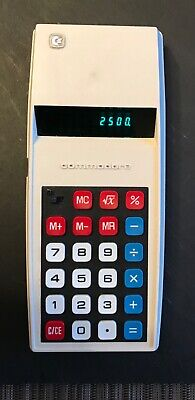 Commodore solid state electronic calculator 1970s GL798D