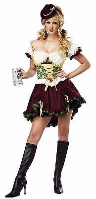 Oktoberfest Bavarian Beer Garden Girl German Adult Costume - Beer Garden Girl
