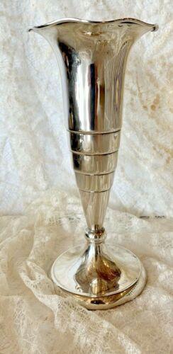 Vintage Dutch Silver 835 Art Deco Sterling Vase