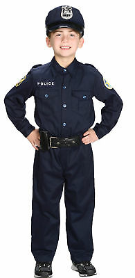 Police Officer Child Costume Career Aeromax Swat Community Helpers Day Halloween