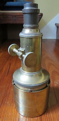UNUSUAL ANTIQUE BRASS PETZVAL CAMERA LENS for sale  Shipping to India
