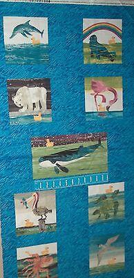 10 Little Rubber Ducks - 10 Little Rubber Ducks Quack Scenic Book Panel 5695 Quilt Andover Cotton Fabric