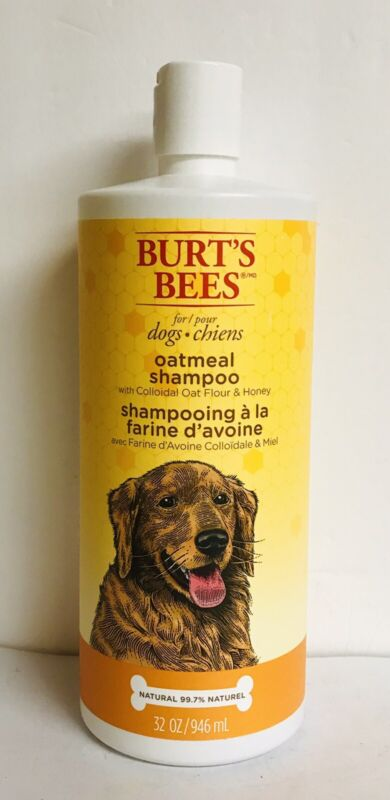 Burt's Bees Natural Oatmeal Shampoo with Honey for Dogs 32 fl oz