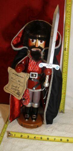 "Steinbach Sheriff of Nottingham Nutcracker -- 17""  Limited Edition, Germany S892"