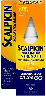 Scalp Itch Relief (Scalpicin Scalp Itch Relief, Maximum Strength 1.5 oz (Pack of)