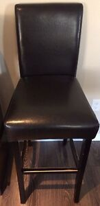 """30"""" leather padded Bistro/ bar chair"""