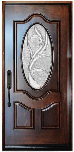 """Single Solid Wood Front Entry Door Side Door 37 1/4"""" x 81"""" x"""