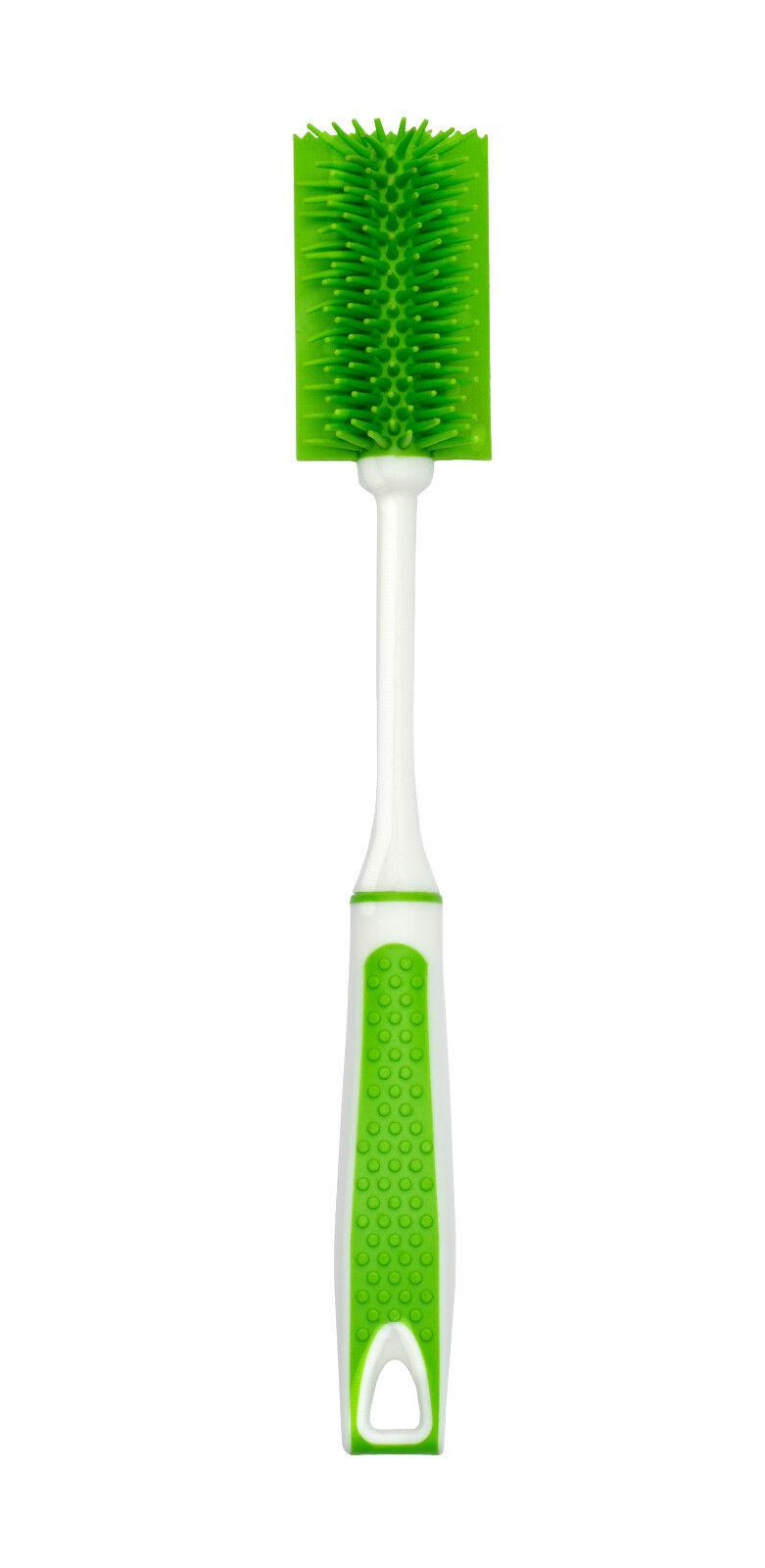 UPP Silikon Flaschenbürste CLEANUPP grün Reinigungsbürste Bürste Silikonbürste