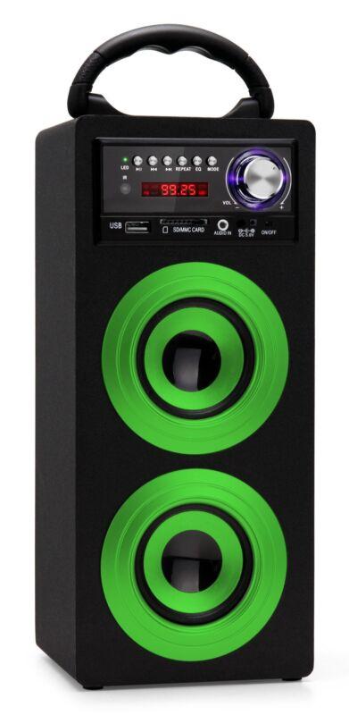 BEATFOXX BS-20BTG BEACHSIDE PORTABLE SPEAKER WERKSTATT BOX BAUSTELLEN RADIO USB