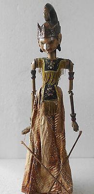 1 Holz Puppe Wayang Golek Marionette Original rod puppet WGT03