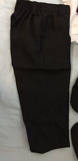 Kids black formal suit set size 3