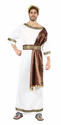 Griechischer Gott - XL, Römische Toga Party , - Römische Toga Kostüm