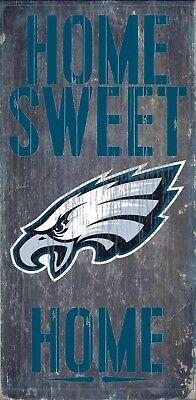 - Philadelphia Eagles Home Sweet Home Wood Sign NEW 6