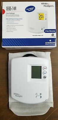 Emerson White-rodgers Line Voltage Non-programmable Thermostat 1e65-144 - New