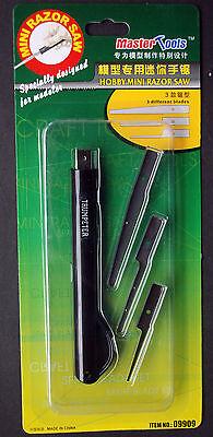 Master Tools 9909 Trumpeter Säge Fotogeäzt Hobby Mini Razor Saw