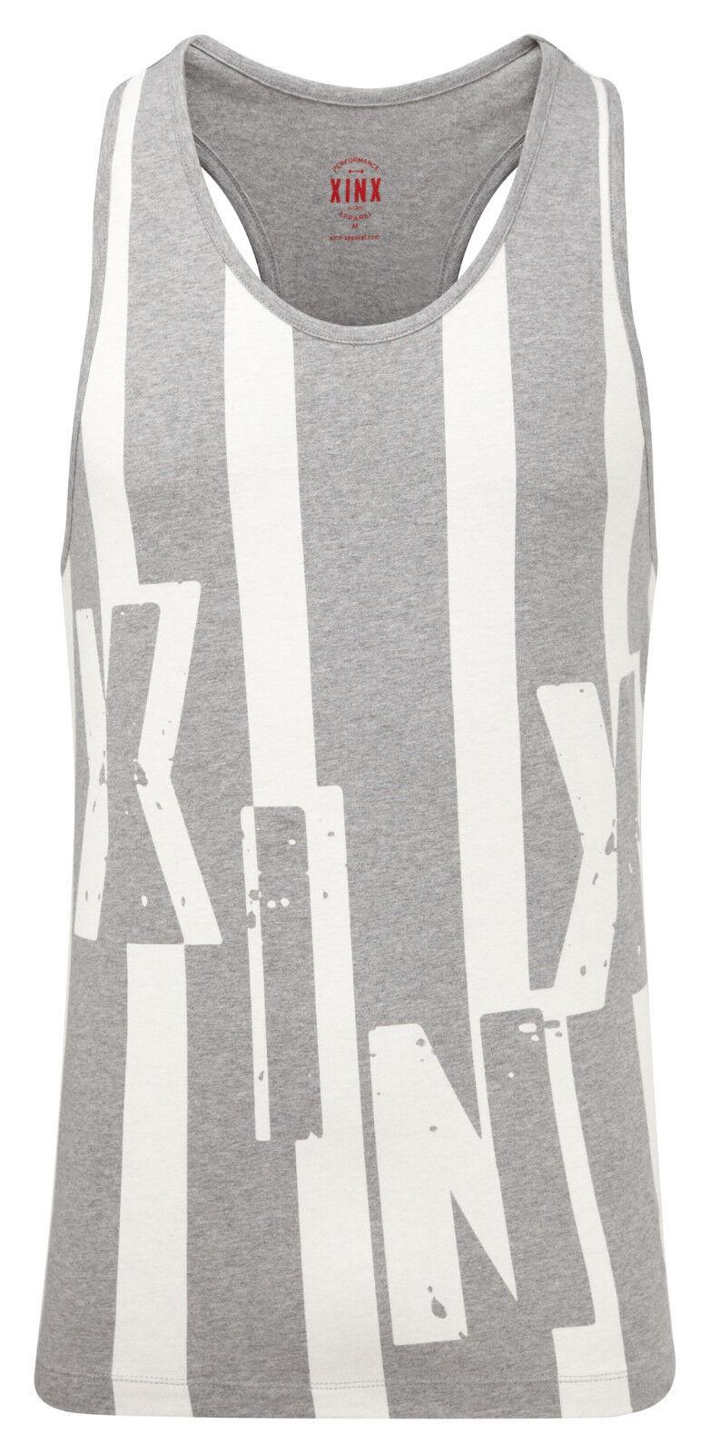 XINX Spotlight Short Sleeve T-Shirt Top Mens Sports Gym Wear Blue XM0021 KB22