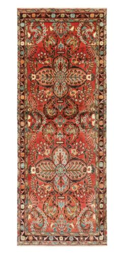 Hand Knotted Tribal Runner Wool Rust Nomadic Oriental Rug 3