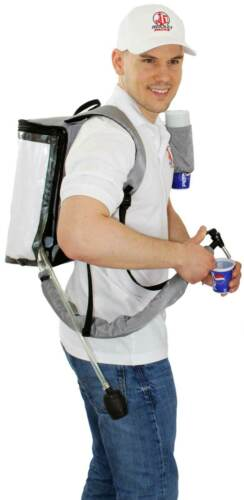 Beer Backpack For 169.1oz Partyfass Beer Barrel Can With Tap And Pump