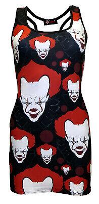 Scary Killer Böse Zirkus Clown Blut Tattoo Muster - Scary Zirkus