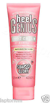 Soap & Glory Heel Genius Amazing Foot Cream Marvel 125ml Special Christmas Gift