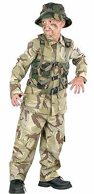 Authentic Delta Force Desert Army Military Child Costume - Desert Army Costume
