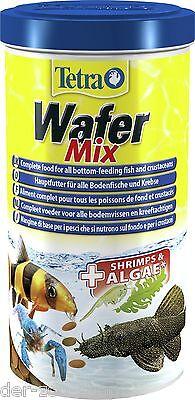 Futtertabletten Welsfutter Tetra Wafer Mix 1000ml 1L TetraWafer Mix 24 Std.Vers