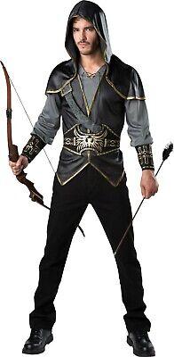 Hooded Huntsman Hunter Renaissance Adult Costume](Mens Renaissance Costumes)