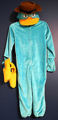 New Disney Parks PERRY the PLATYPUS Phineas & Ferb AGENT P Costume XXS (2/3)