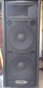 Kustom passive speakers