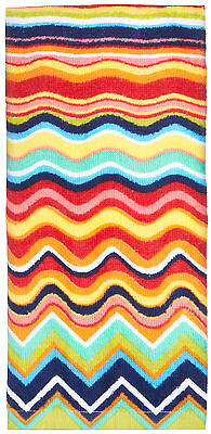 Fiesta Multicolor Zig Zag Kitchen Towel One Size Multi